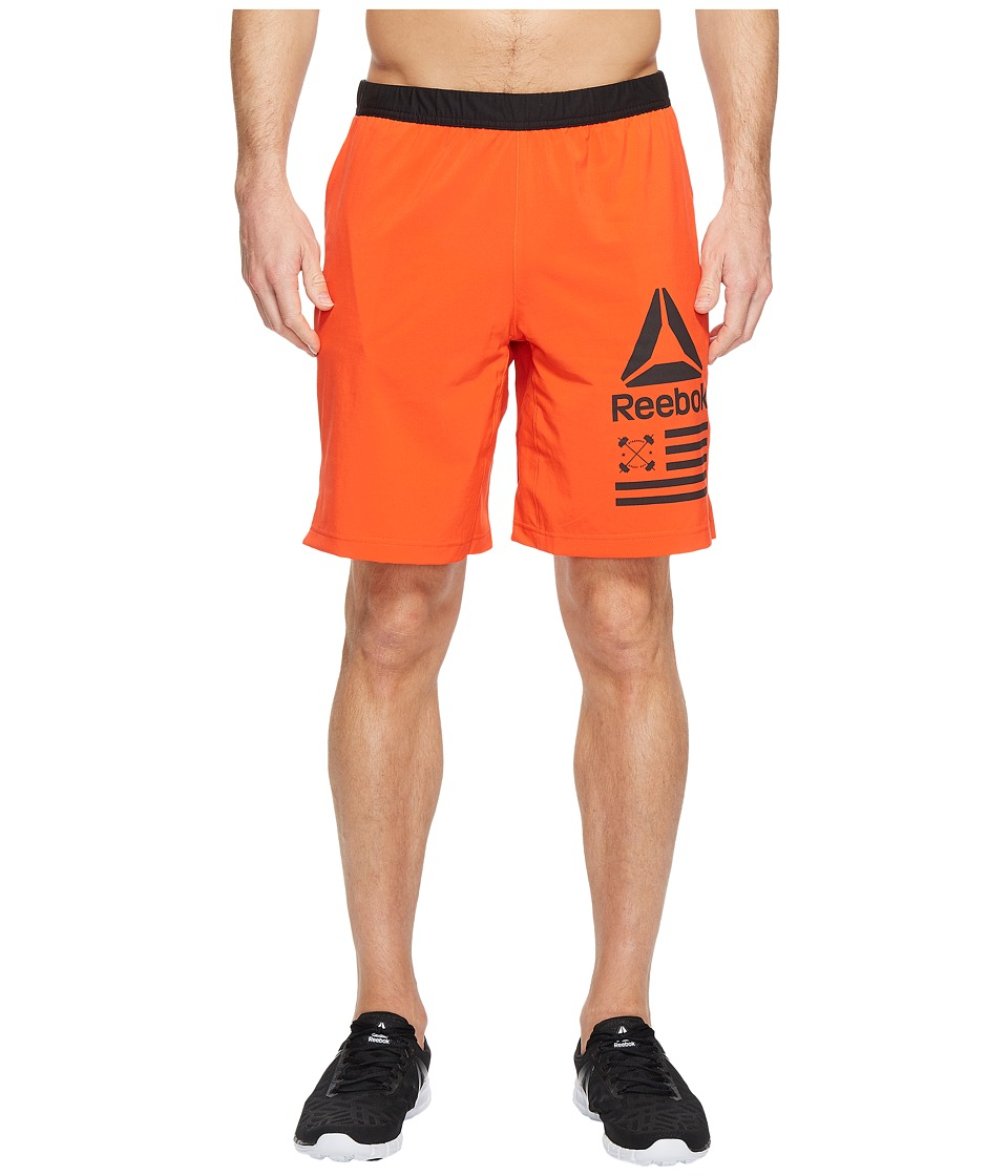Reebok - Speed Shorts (Carotene) Men's Shorts