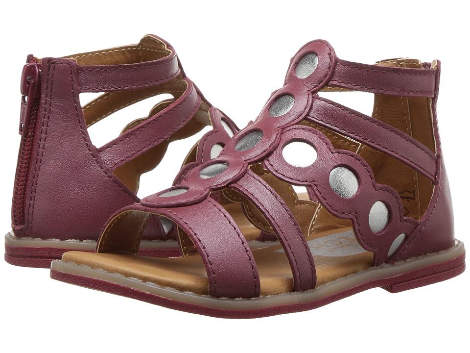 Umi Kids Meda (Toddler/Little Kid) (Burgundy) Girls Shoes