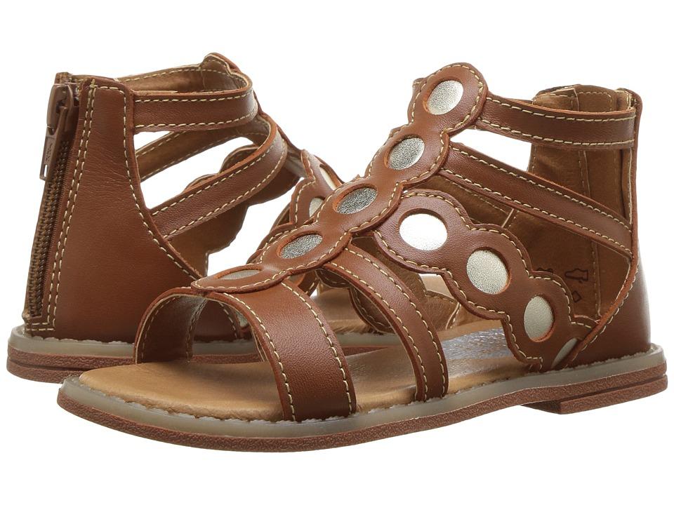Umi Kids Meda (Toddler/Little Kid) (Saddle Tan) Girls Shoes