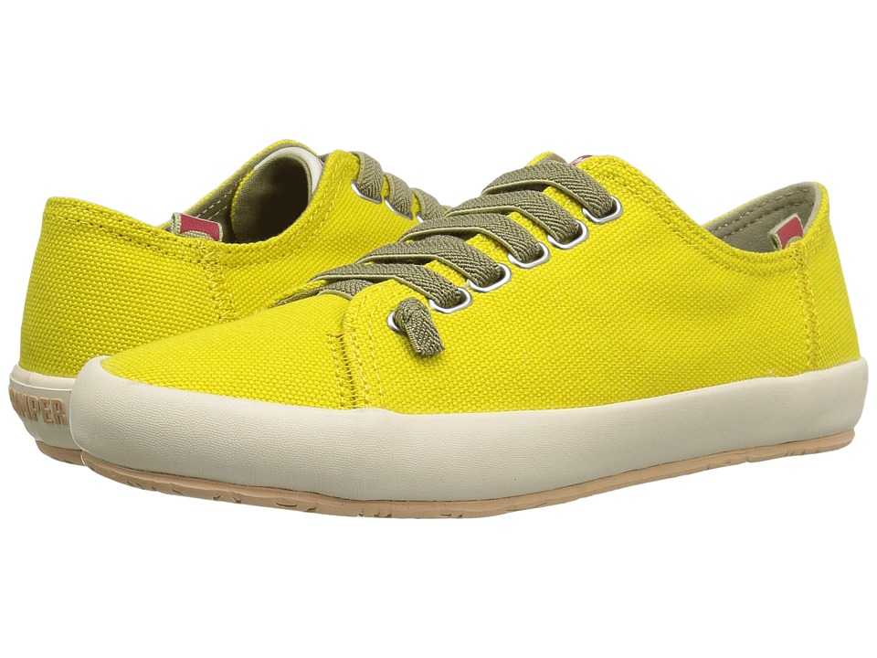 Camper - Borne - K200284 (Medium Yellow) Women's Lace up casual Shoes