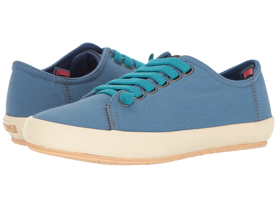 Camper - Borne - K200284 (Medium Blue) Women's Lace up casual Shoes