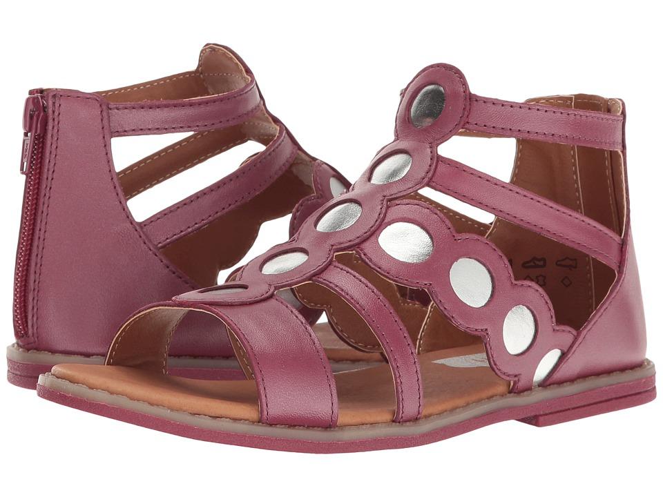 Umi Kids - Meda II (Little Kid) (Burgundy) Girls Shoes