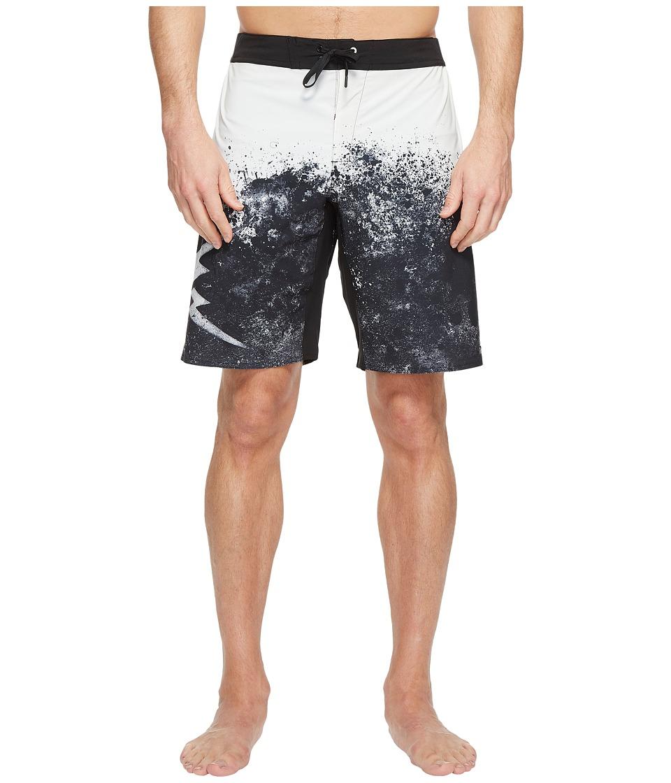 Reebok Splatter Print Sublimated Boardshorts (Chalk) Men