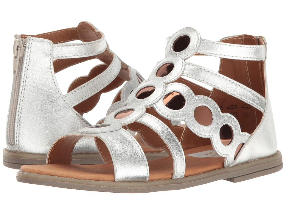 Umi Kids - Meda II (Little Kid) (Silver Multi) Girls Shoes