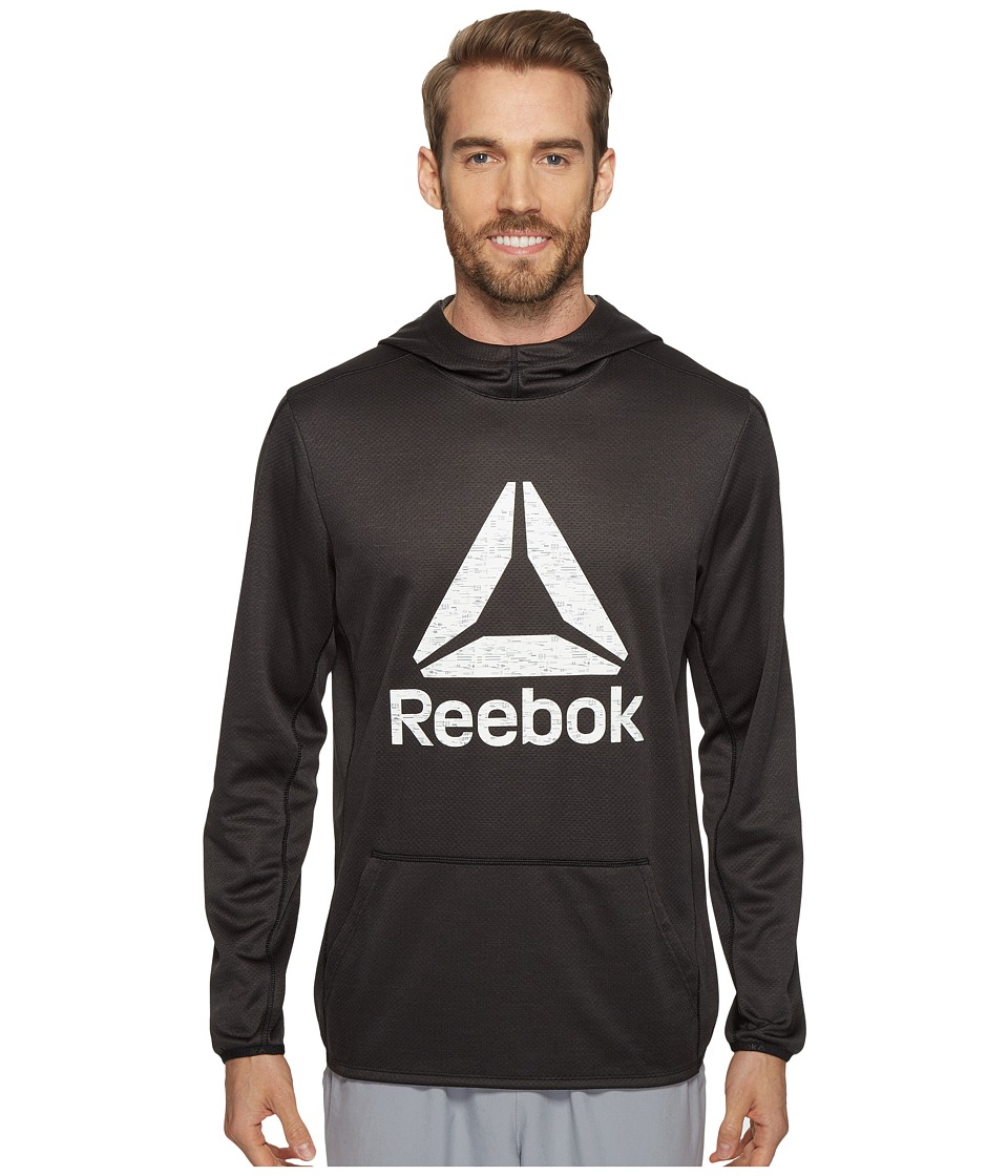 Reebok - US Workout Ready Oth Graphic Hoodie (Black) Men's Sweatshirt