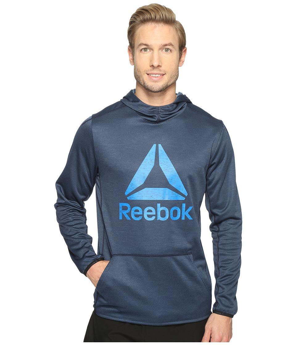 Reebok - US Workout Ready Oth Graphic Hoodie (Collegiate Navy) Men's Sweatshirt