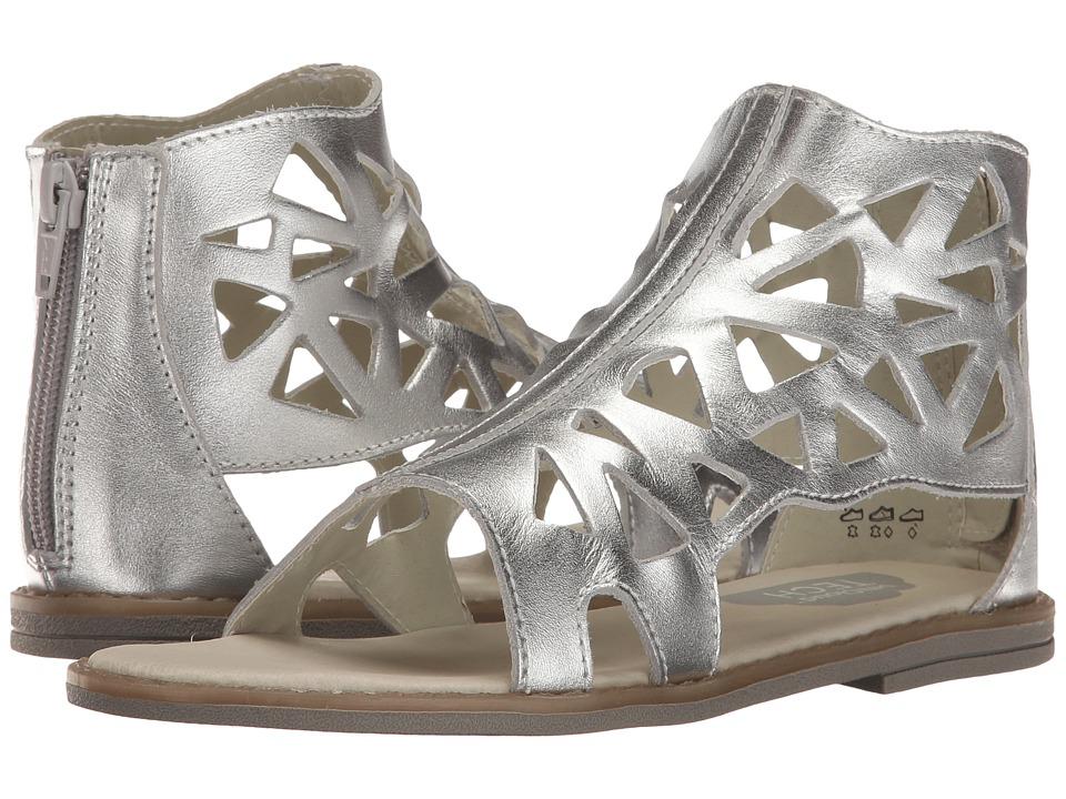 Umi Kids - Rena B II (Little Kid) (Silver) Girl's Shoes