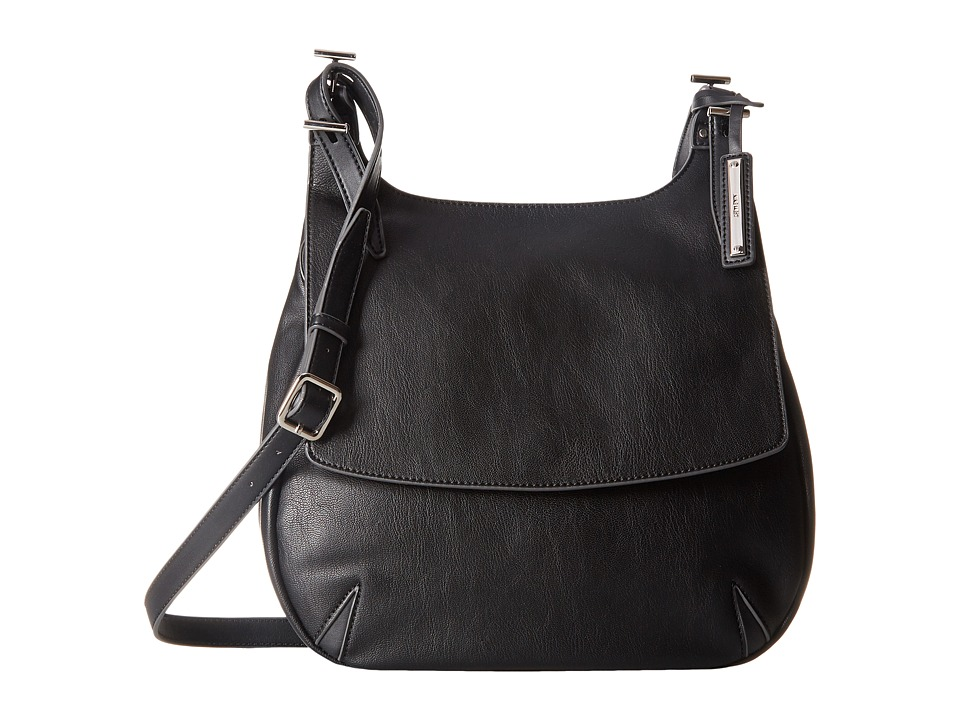 Nine West - Call Of The Wild Saddle Bag (Black) Handbags