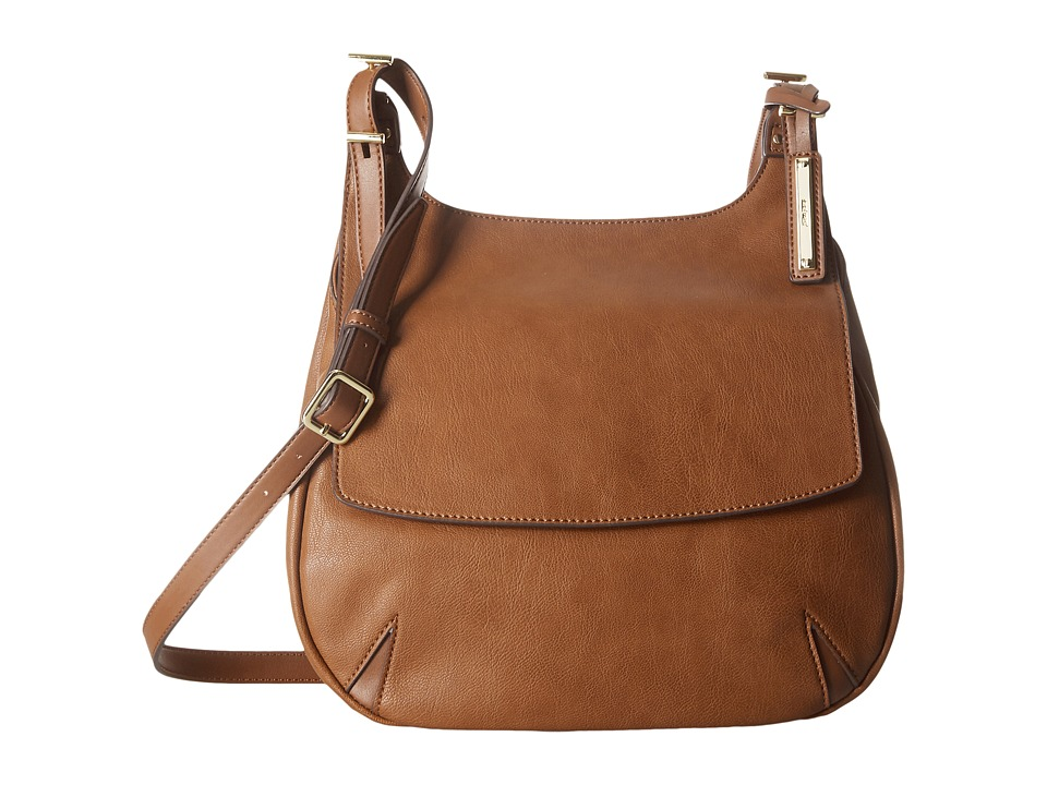Nine West - Call Of The Wild Saddle Bag (Tobacco) Handbags