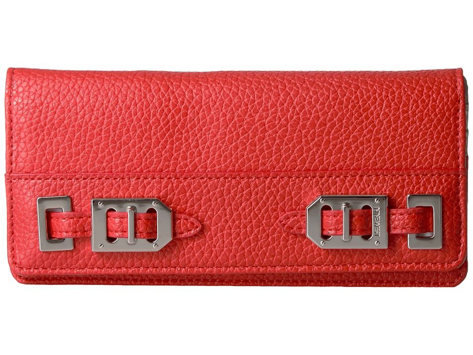 Nine West - Gleam Team Deluxe Wallet (Bright Poppy Red) Wallet Handbags