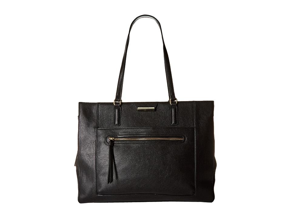 Nine West - Just Zip It Tote (Black) Tote Handbags