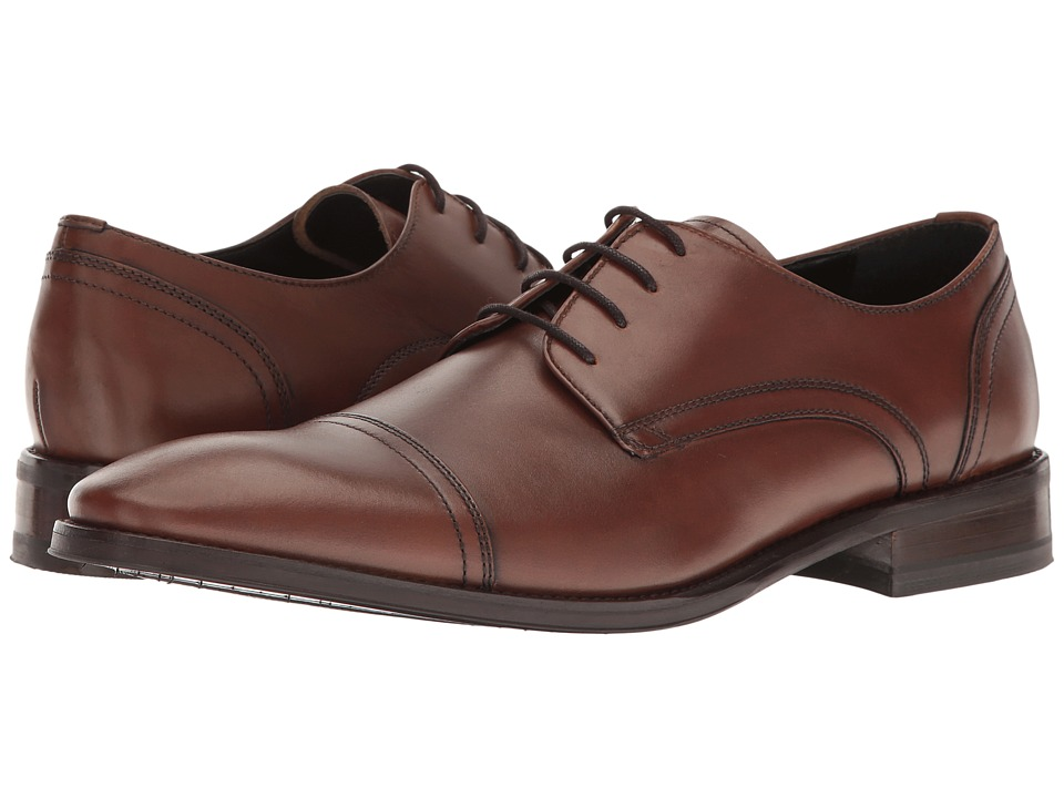 Kenneth Cole New York - Gather Around (Cognac) Men's Shoes