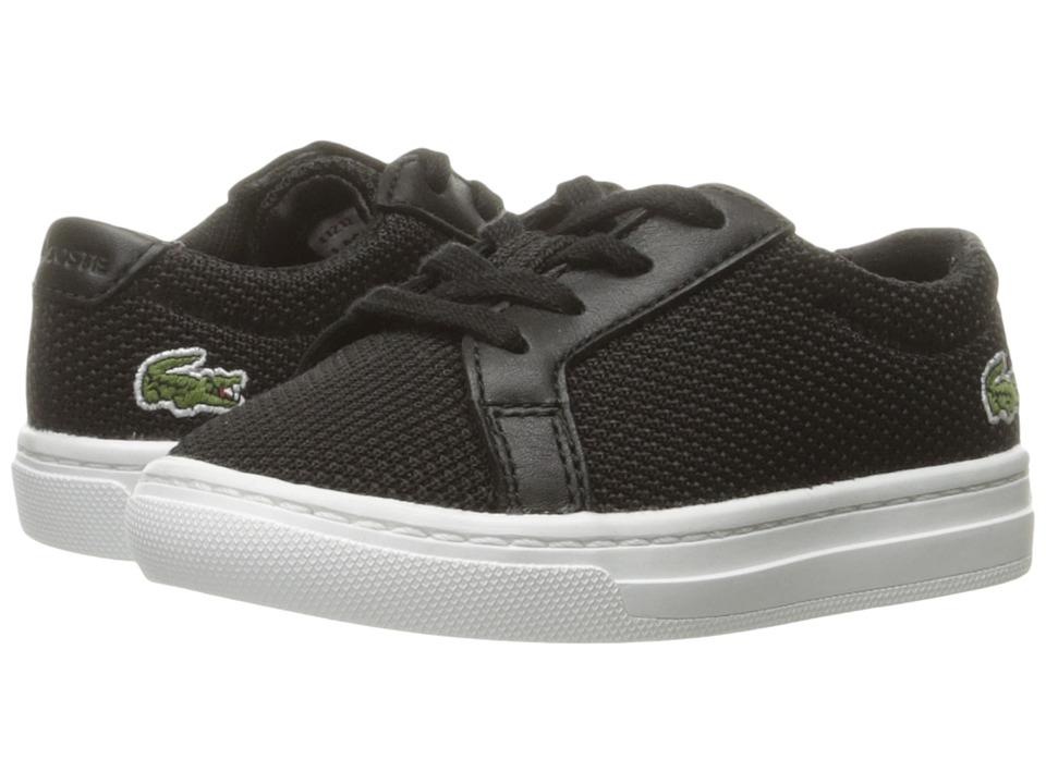 Lacoste Kids - L.12.12 BL 2 SP17 (Toddler/Little Kid) (Black) Kids Shoes