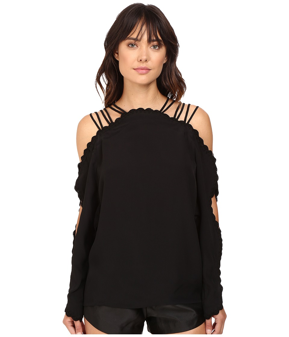 alice McCALL - Another Love Top (Black) Women's Clothing