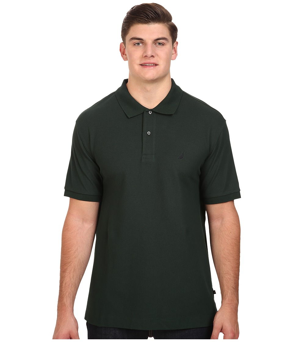 Nautica Big & Tall - Big Tall Short Sleeve Knit Solid Top (Kelp Seas) Men's Clothing