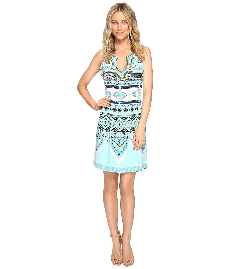 Hale Bob - The Sweet Spot Matte Microfiber Dress (Blue) Women's Dress