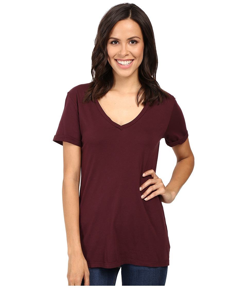 LAmade - Staple V S/S Tee (Acai) Women's T Shirt