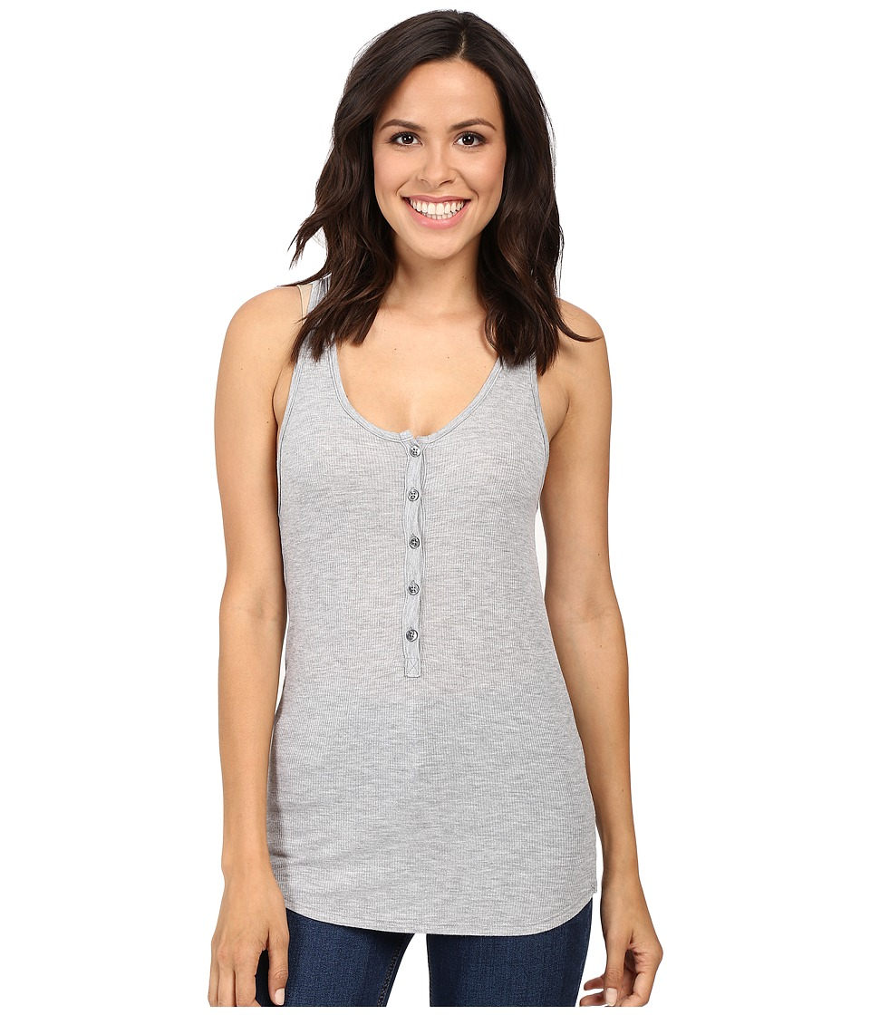 LAmade - Lily Tank Top (Heather Grey) Women's Sleeveless