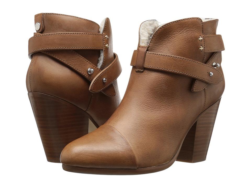 rag & bone - Harrow Boot (Tan/Shearling) Women's Boots