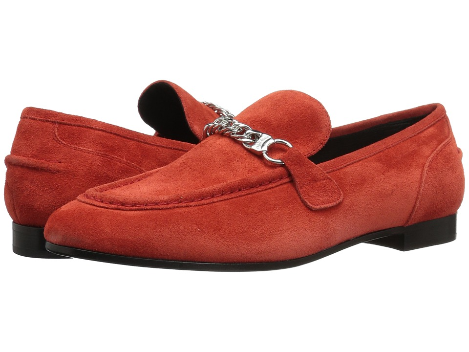 rag & bone - Cooper Loafer (Red Suede) Women's Shoes