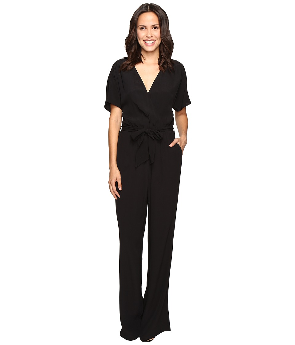 LAmade - Christy Belted Romper (Black) Women's Jumpsuit & Rompers One Piece