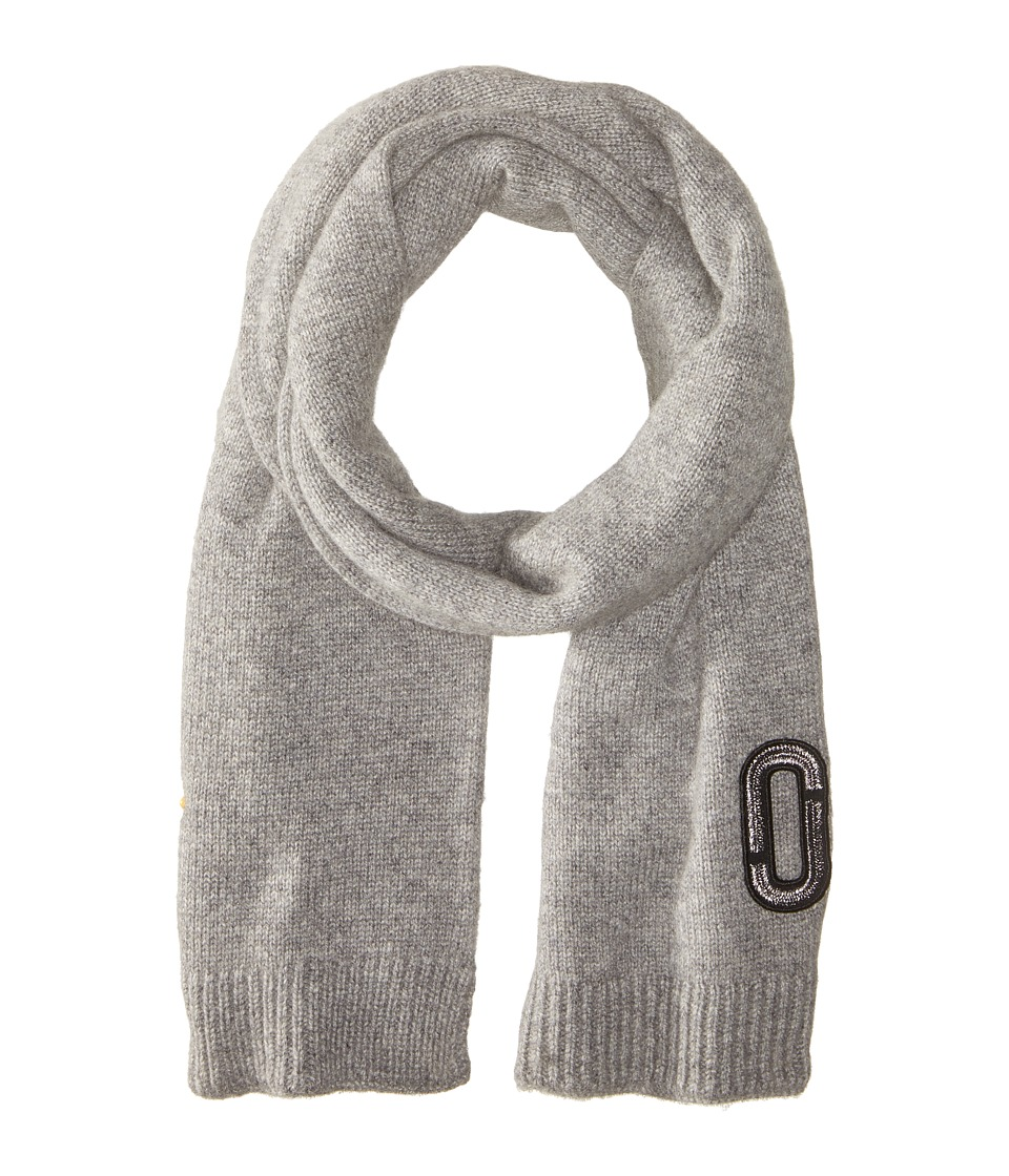 Marc Jacobs - Classic Cashmere Scarf (Grey) Scarves