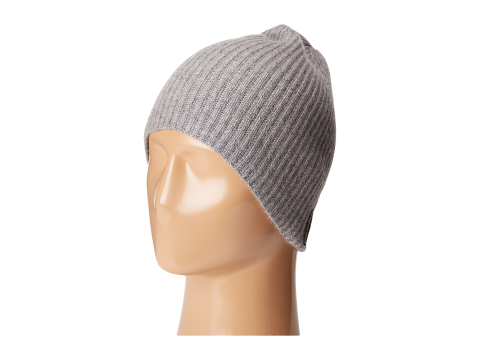 Marc Jacobs - Classic Cashmere Hat (Grey) Traditional Hats