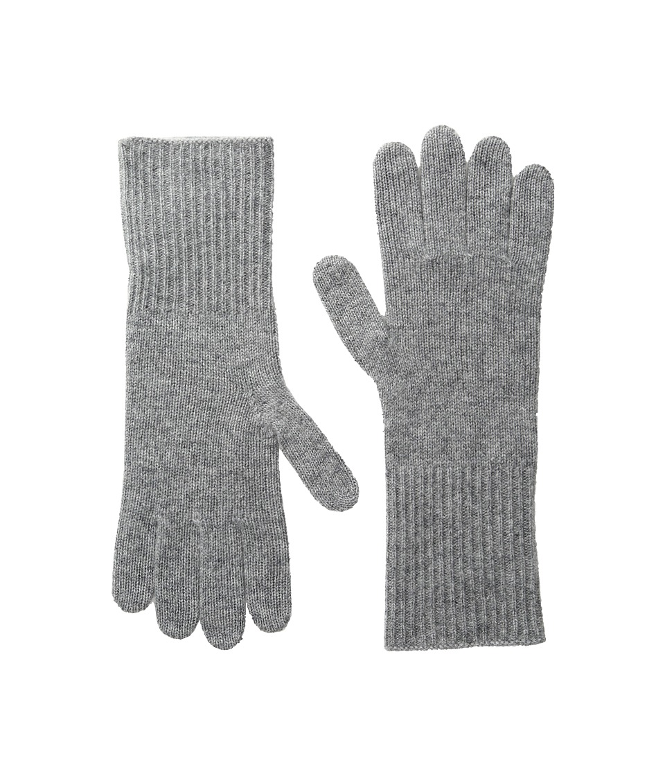 Marc Jacobs - Classic Cashmere Gloves (Grey) Dress Gloves