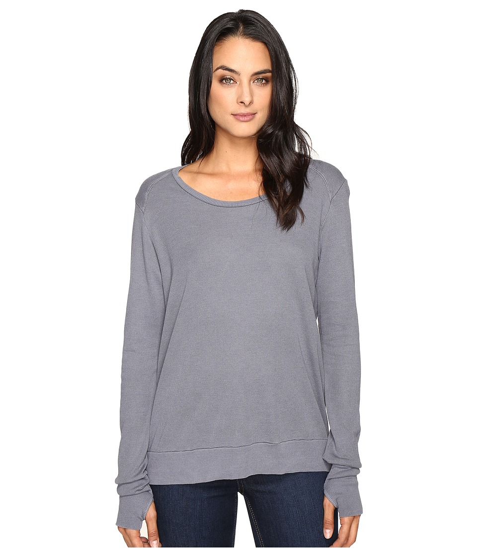 LAmade - Conway Thermal Top (Pewter) Women's Clothing