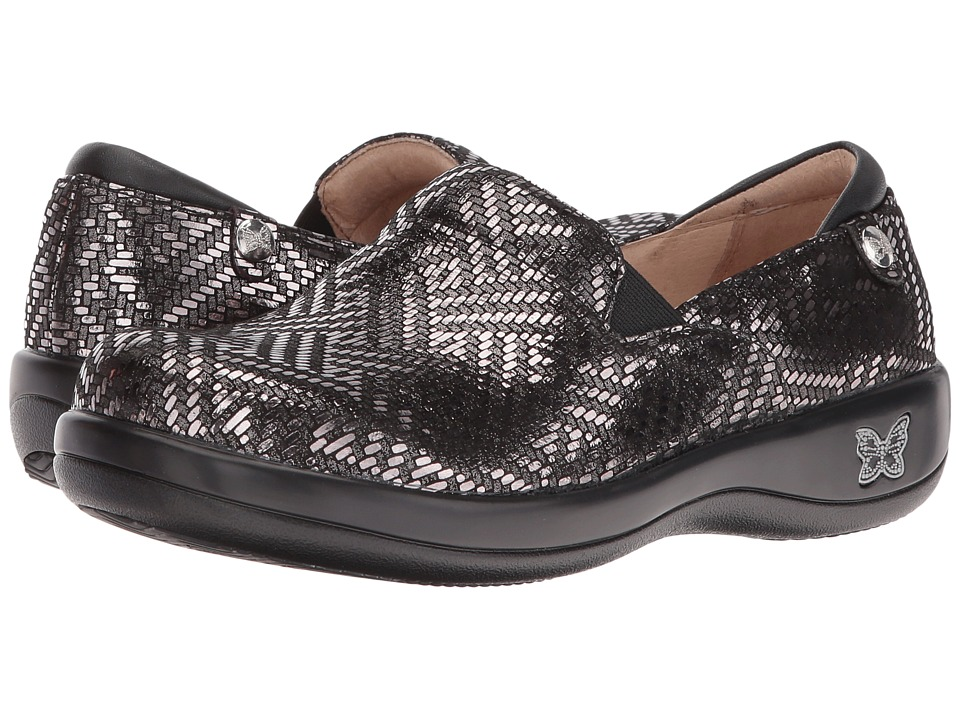 Alegria - Keli Professional (Pewter Dazzler) Women's Shoes