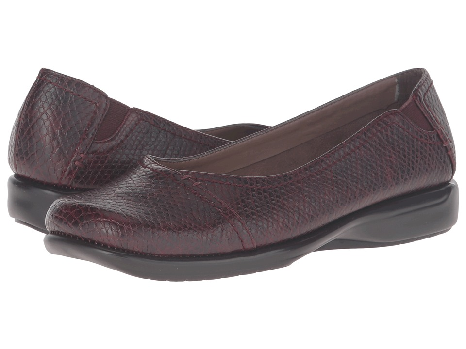 A2 by Aerosoles - Richmond (Wine Snake) Women's Slip on Shoes