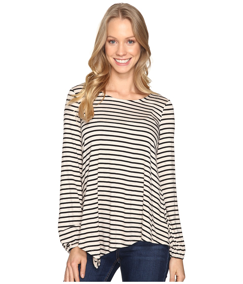 B Collection by Bobeau - Milla Top (Stripe) Women's Clothing