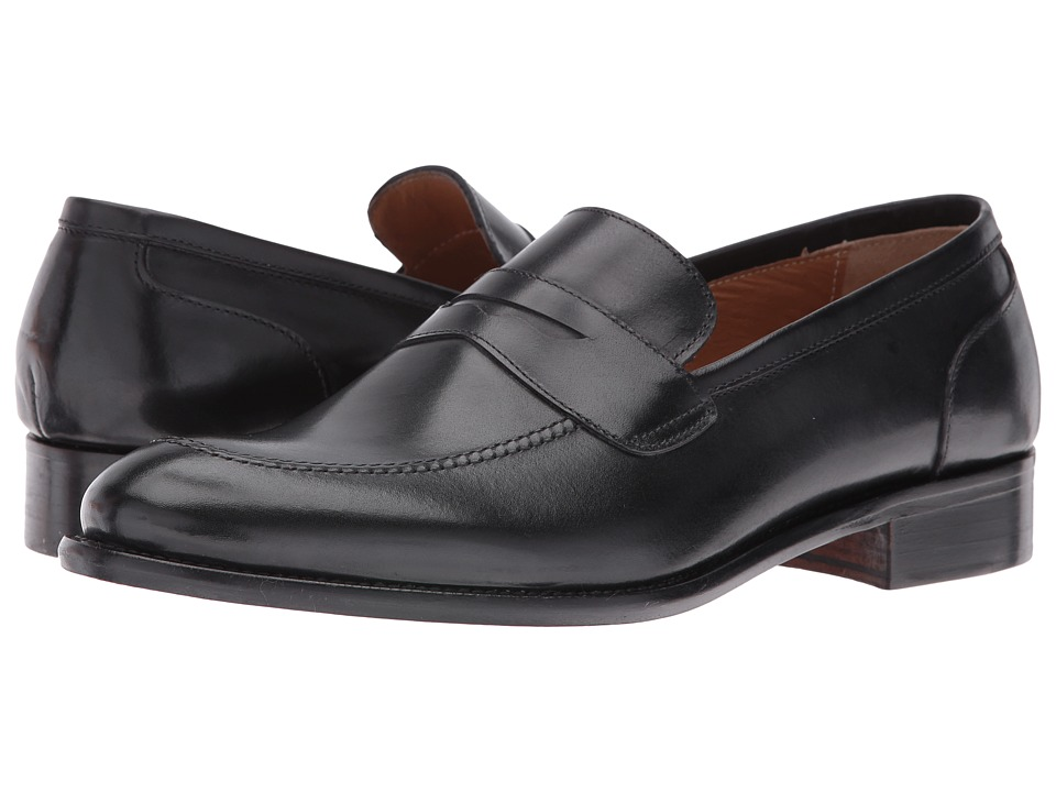 Kenneth Cole New York - Land On Ur Feet (Black) Men's Slip on Shoes