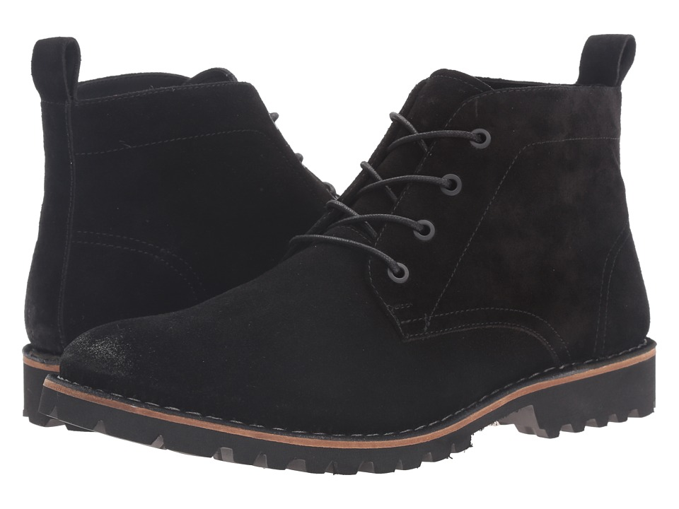 Kenneth Cole New York - Lug-xury (Black) Men's Lace-up Boots