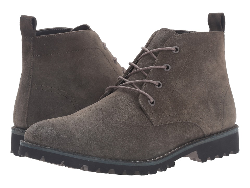 Kenneth Cole New York - Lug-xury (Dark Grey) Men's Lace-up Boots