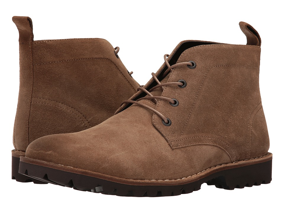 Kenneth Cole New York - Lug-xury (Camel) Men's Lace-up Boots