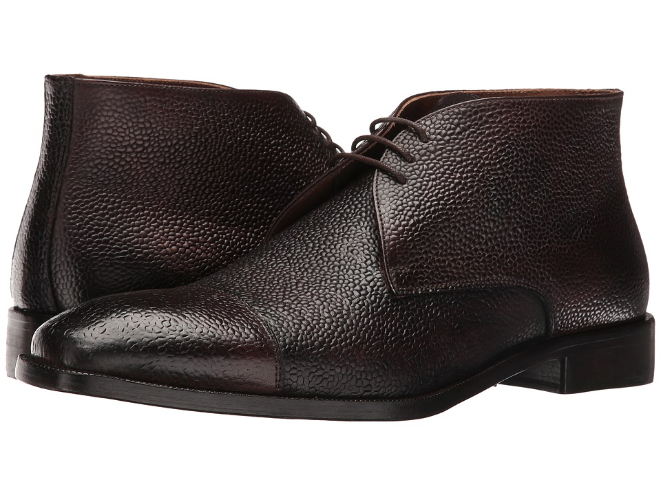Kenneth Cole New York - Pea-coat (Espresso) Men's Lace-up Boots