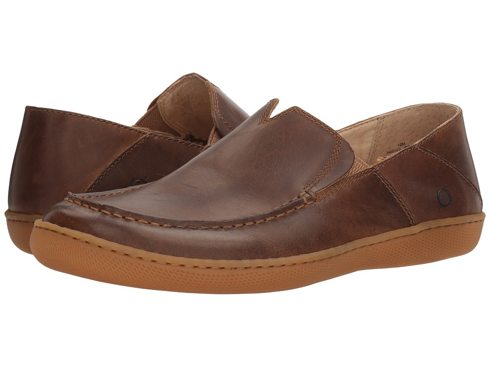 Born - Mackay (Dark Brown/Pyramid) Men's Slip on Shoes