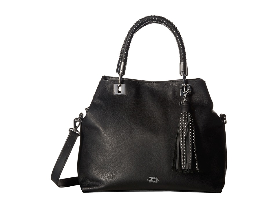 Vince Camuto - Elva Satchel (Black) Satchel Handbags
