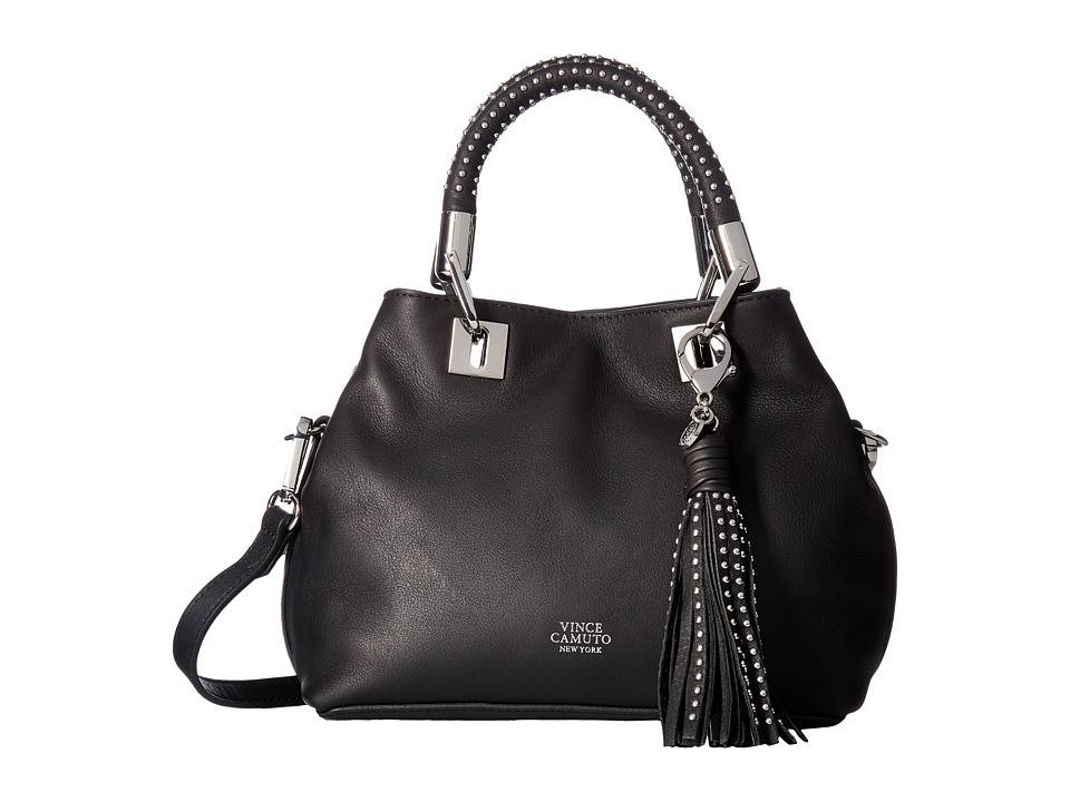 Vince Camuto - Elva Small Satchel (Black) Satchel Handbags