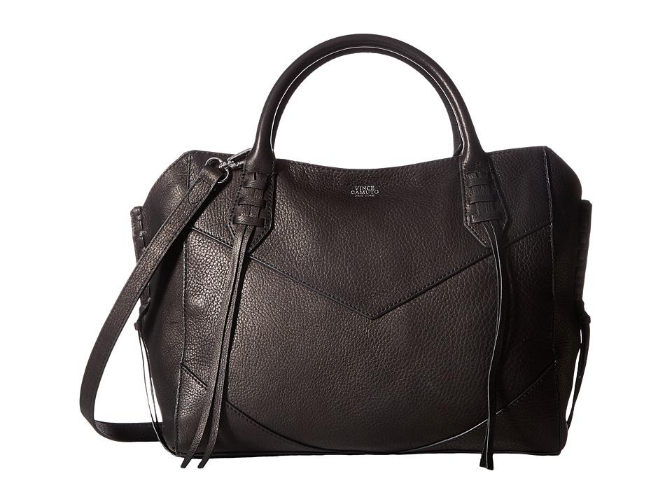 Vince Camuto - Fargo Satchel (Black) Satchel Handbags