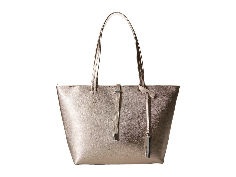 Vince Camuto - Leila Small Tote (Bronze) Tote Handbags