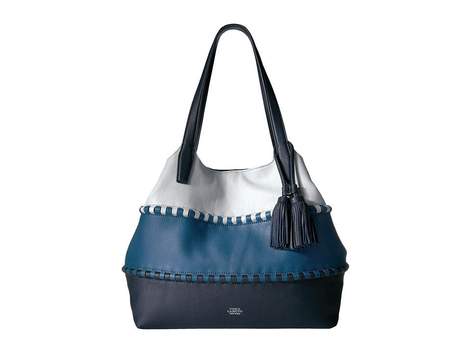 Vince Camuto - Edena Tote (Deep Blue/Blue Jay) Tote Handbags