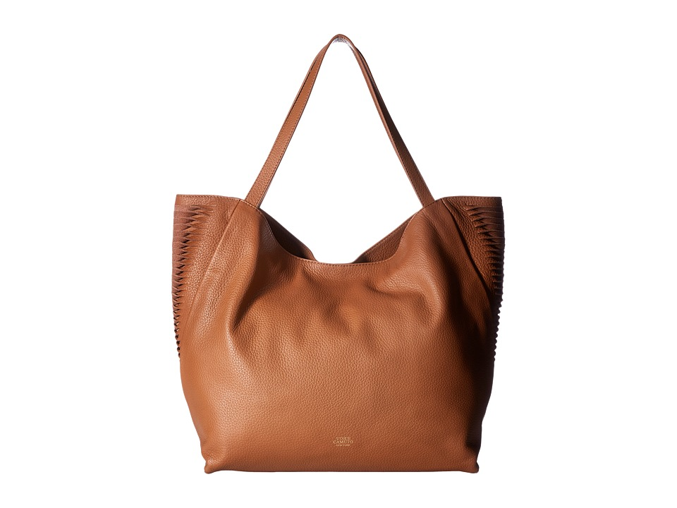 Vince Camuto - Ty Tote (Caramel) Tote Handbags