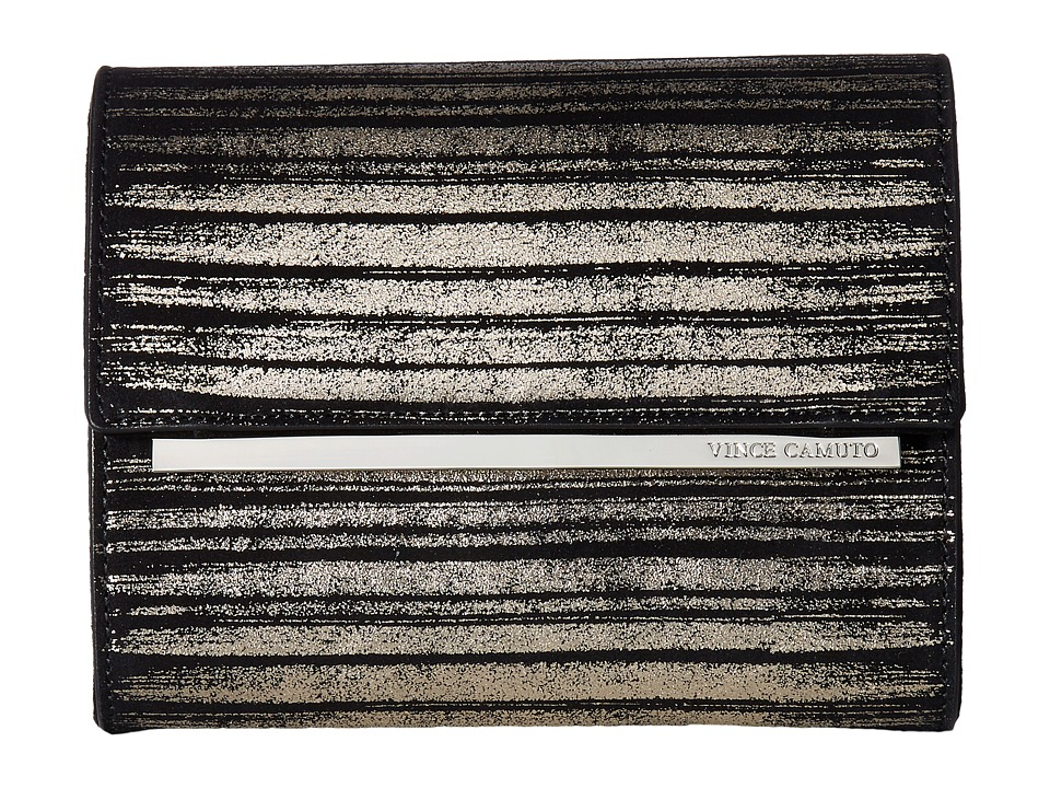 Vince Camuto Mavil Clutch (Silver/Black) Clutch Handbags