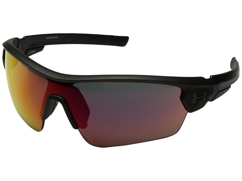 Under Armour - Rival (Ceramic Charcoal/Black Frame/Gray Infrared Multiflection Lens) Athletic Performance Sport Sunglasses