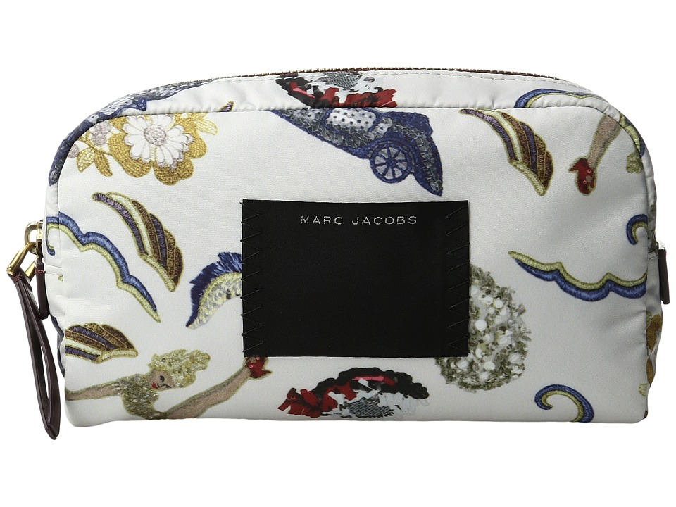 Marc Jacobs - Byot Vintage Collage Large Cosmetic Case (Dove Multi) Cosmetic Case
