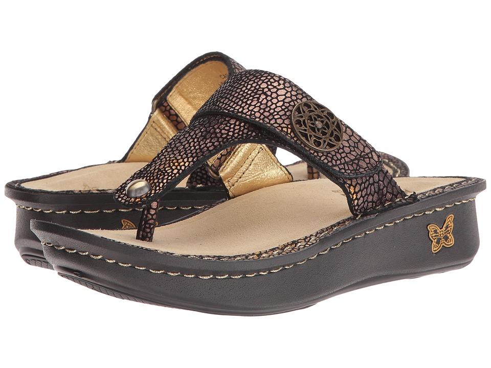 Alegria - Carina (Bronze Mosaic) Women's Sandals