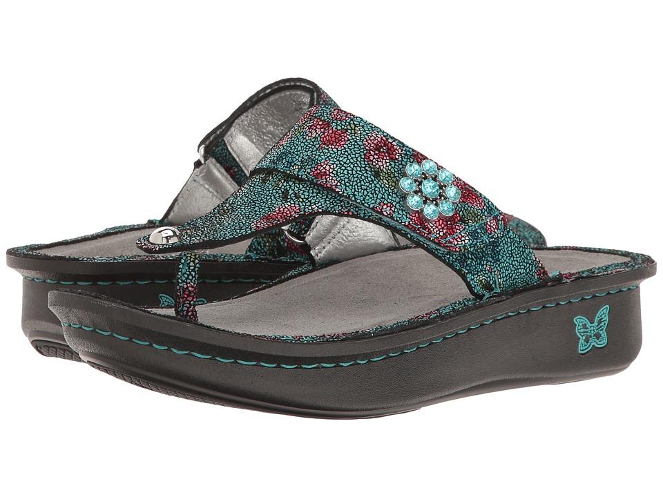 Alegria - Carina (Aqua Flora) Women's Sandals