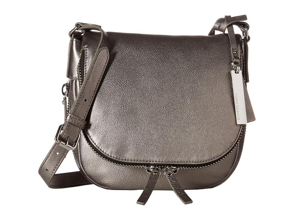 Vince Camuto - Baily Crossbody (Gunmetal) Cross Body Handbags